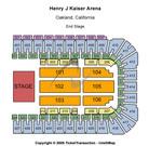Henry J Kaiser Arena