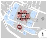 Mercedes-Benz Superdome Parking Lot
