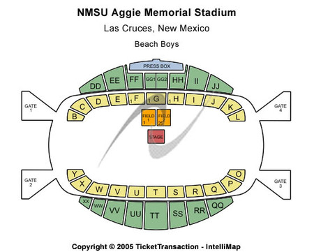 Aggie Memorial Stadium NMSU