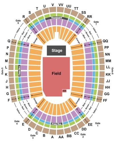 Aloha Stadium Tickets - Aloha Stadium in Aiea, HI at GameStub!