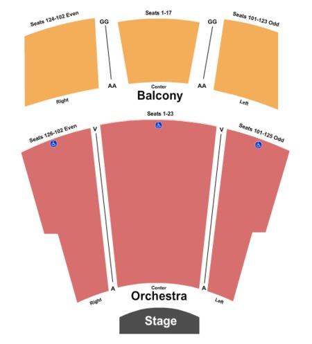 Ames Center - Proscenium Stage