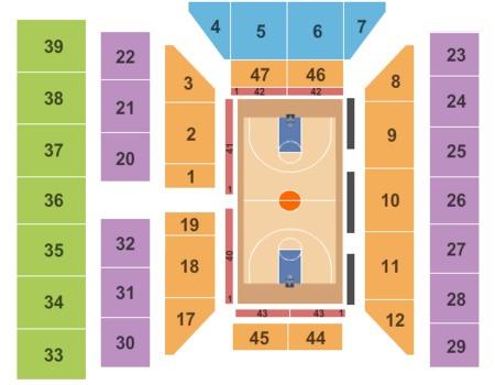 Civic Center Seating Chart