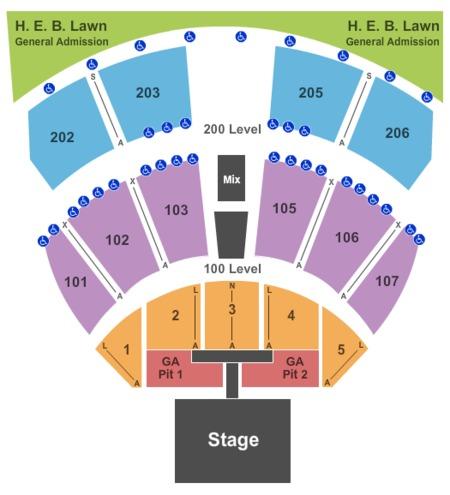 Austin360 amphitheater tickets austin360 amphitheater in austin