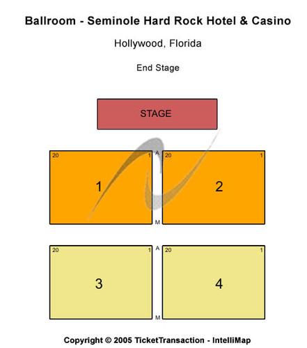 Ballroom - Seminole Hard Rock Hotel & Casino FL