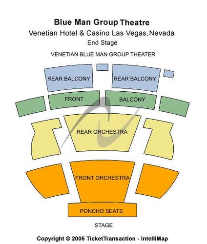 Blue Man Group Theatre - Venetian Hotel & Casino