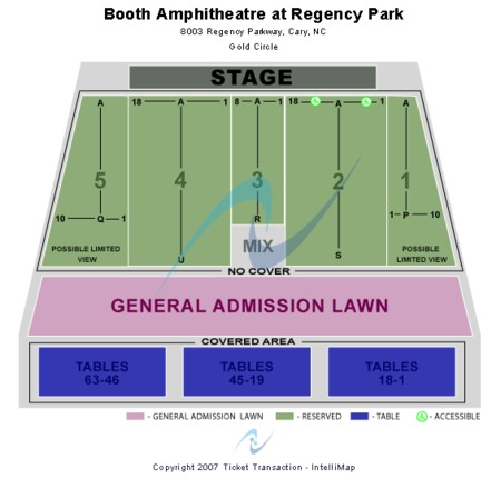 Booth Amphitheatre At Regency Park