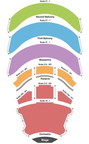California Center For The Arts Escondido - Concert Hall