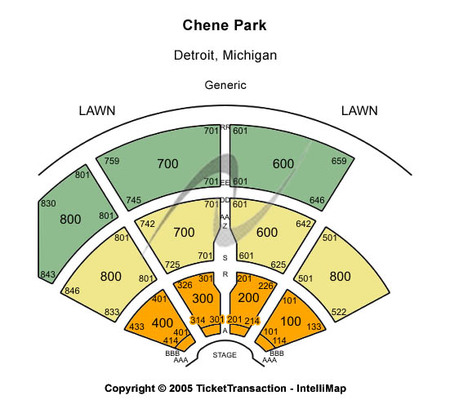 Chene Park Amphitheater