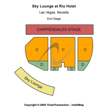 Chippendales Theatre - Rio Hotel