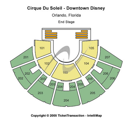 Cirque du Soleil - Downtown Disney