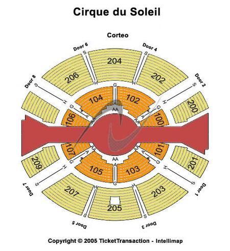 Cirque du Soleil - SBC Park