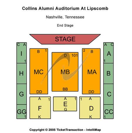 Collins Alumni Auditorium At Lipscomb