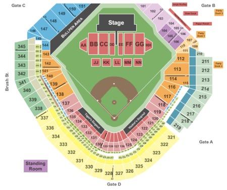 Comerica Park Tickets - Comerica Park in Detroit, MI at ...
