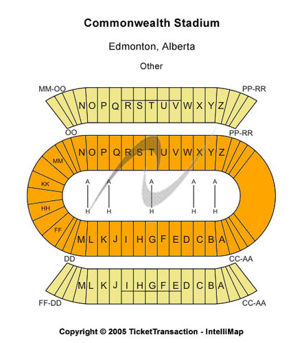 Commonwealth Stadium Tickets - Commonwealth Stadium in ...