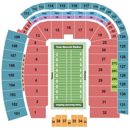Darrell K. Royal Memorial Stadium Tickets - Darrell K. Royal ... on darrell k royal stadium map, acc stadium map, dkr parking map, dkr stadium-seating chart view, dkr football seating capacity, milan puskar stadium map, ut stadium map, dkr suite map, texas stadium map,