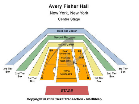 Avery Fisher Hall at Lincoln Center