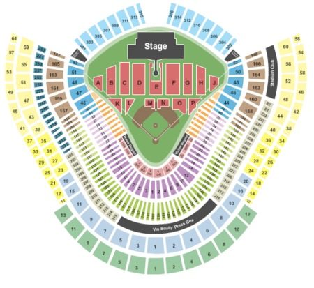 Dodger Stadium Tickets - Dodger Stadium in Los Angeles, CA ... on target field map, citi field map, dodgers section map, the getty map, la dodgers map, california map, bronson canyon map, sports authority field at mile high map, los alamitos race track map, angel stadium map, staples center map, o.co coliseum map, los angeles map, suntrust park map, wrigley field map, durham bulls athletic park map, santa fe dam recreation area map, cincinnati reds map, griffith park map, marlins ballpark map,