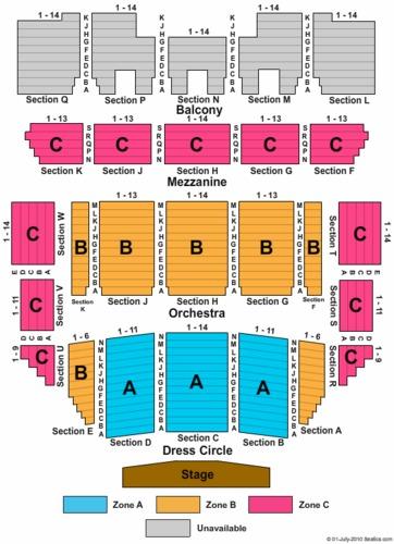 Duke Energy Center for the Performing Arts Memorial Auditorium