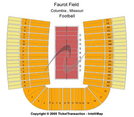 Faurot Field at Memorial Stadium