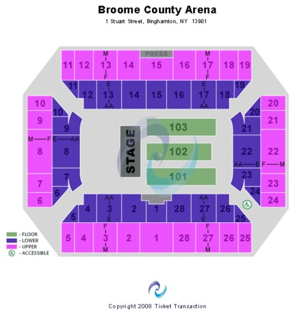 Broome County Veterans Memorial Arena