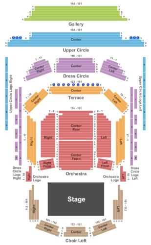 winspear seating chart: Francis winspear centre tickets francis winspear centre in