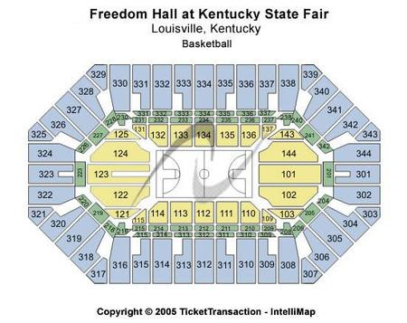 Freedom Hall At Kentucky State Fair