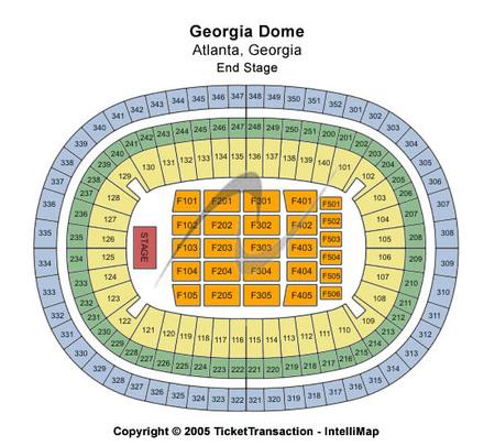 Georgia Dome Tickets Georgia Dome In Atlanta Ga At Gamestub