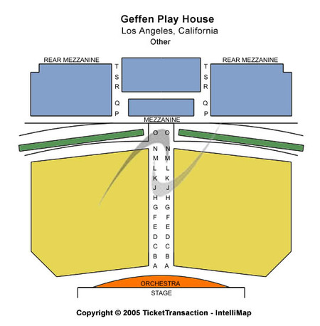 Gil Cates Theater At Geffen Playhouse