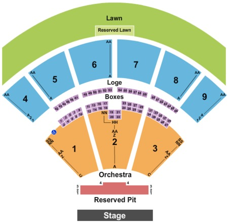 Glen Helen Amphitheater Tickets Glen Helen Amphitheater