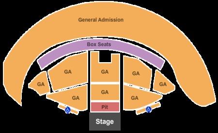 Gorge Amphitheatre Tickets Gorge Amphitheatre In Quincy