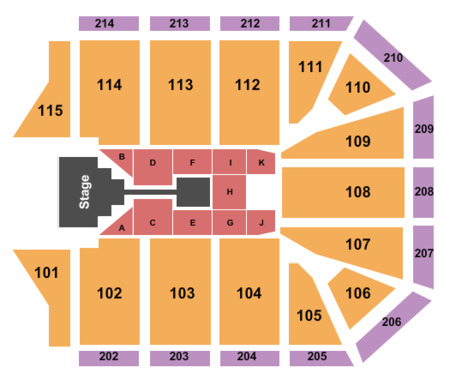 Gcu Arena Map Grand Canyon University Arena Tickets   Grand Canyon University