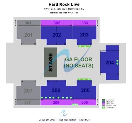 Hard Rock Live At The Seminole Hard Rock Hotel & Casino