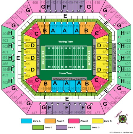 Hard Rock Stadium Tickets Hard Rock Stadium In Miami Gardens Fl At Gamestub