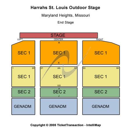 Harrah's St Louis Outdoor Stage