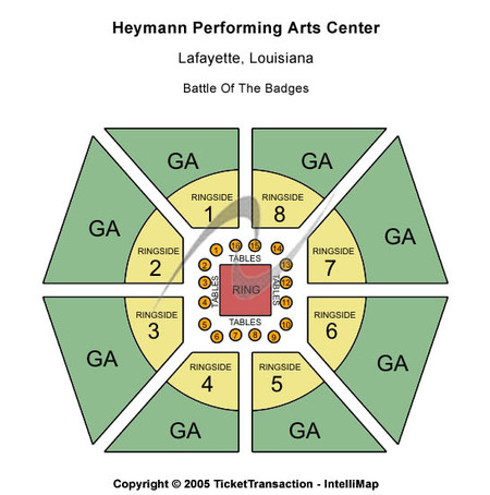 Heymann Performing Arts Center