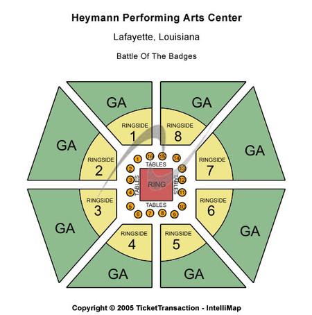 Heymann Performing Arts Center