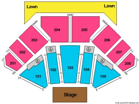 Hollywood Casino Amphitheater Mo Seating Chart Geant Casino