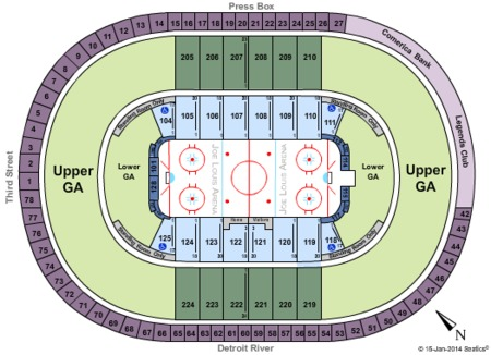 Joe Louis Arena Tickets - Joe Louis Arena in Detroit, MI at GameStub!