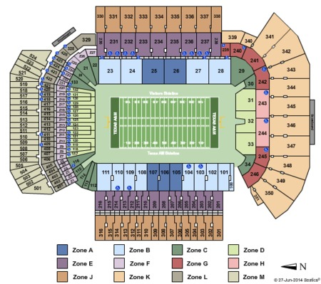Kyle Field Tickets Kyle Field in College Station TX at GameStub