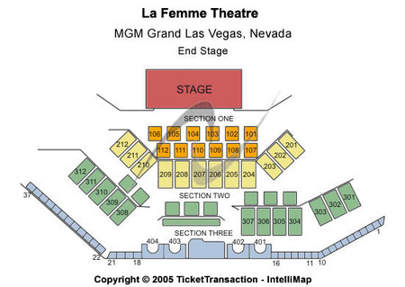 La Femme Theater- MGM Grand