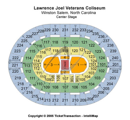 Lawrence Joel Veterans Memorial Coliseum