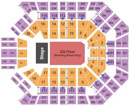 MGM Grand Garden Arena Tickets - MGM Grand Garden Arena in Las Vegas