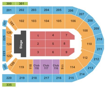Mohegan Sun Arena At Casey Plaza Tickets Mohegan Sun Arena At