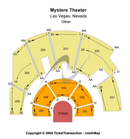 Mystere Theatre - Treasure Island