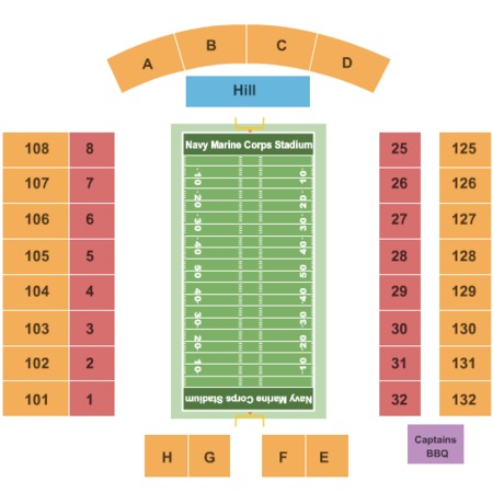 Navy Marine Corps Memorial Stadium Tickets Navy Marine