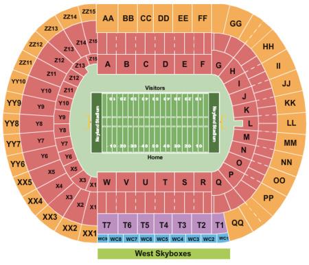 Neyland Stadium Tickets Neyland Stadium In Knoxville Tn