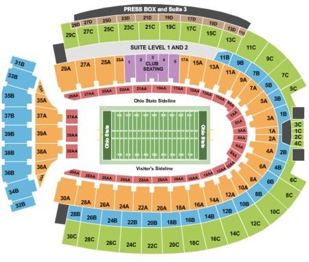 Ohio Stadium Tickets  Ohio Stadium In Columbus OH At