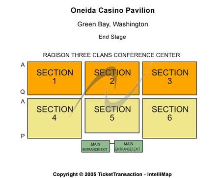 Onieda casino event seating grand casino garrison minnesota