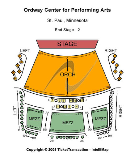 Ordway Center For Performing Arts