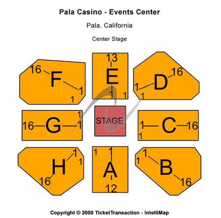 Pala Casino - Events Center